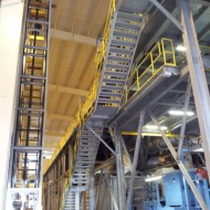 Obra- Plataforma Tekcno (240 ton)- parceria Sigper Montik.